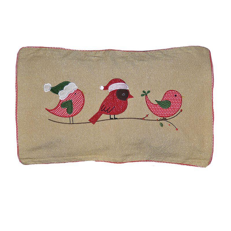 Spencer Home Decor Santa 39 S Chicks Throw Pillow Red