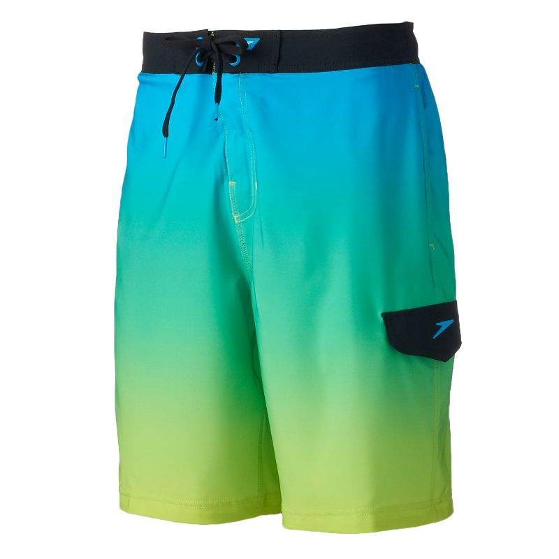 Men's Speedo Engineered Ombre E-Board Shorts