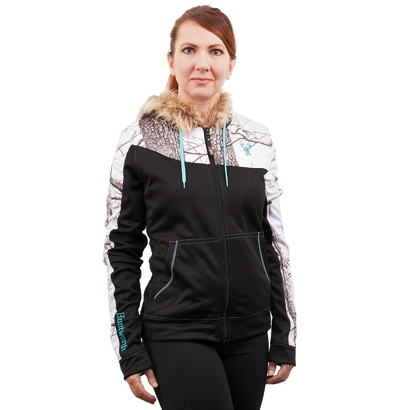 Women's Huntworth Active Hooded Colorblock Hiking Jacket