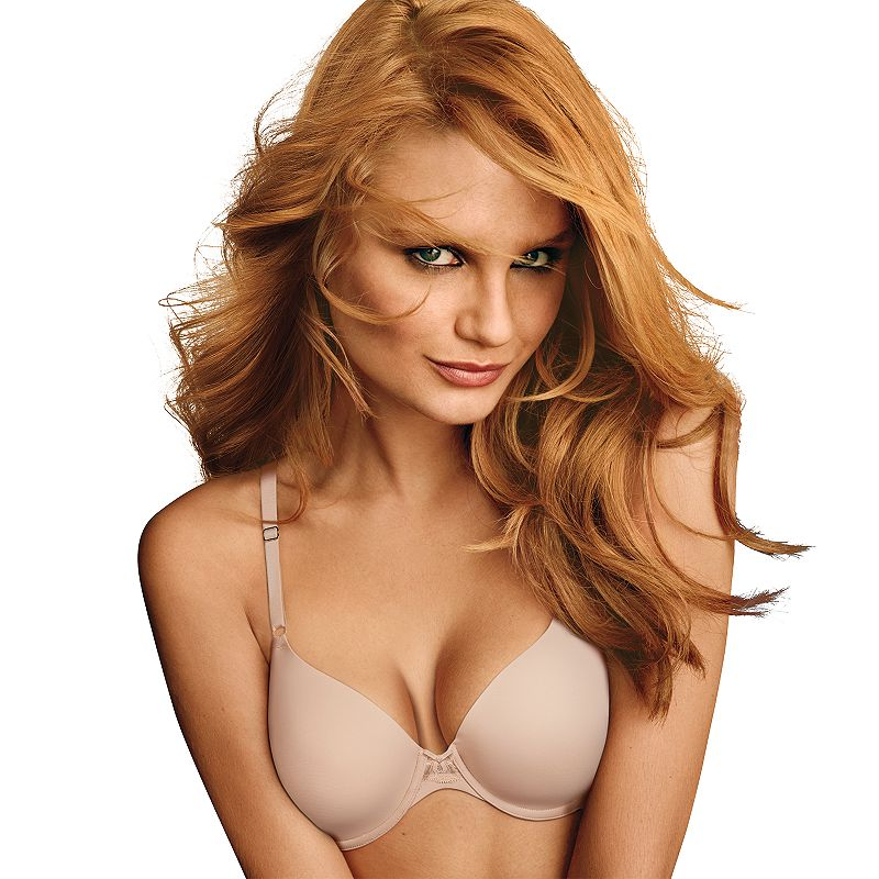 Maidenform Bra: One Fab Fit Embellished Extra-Coverage Demi Bra DM7958 - Women's