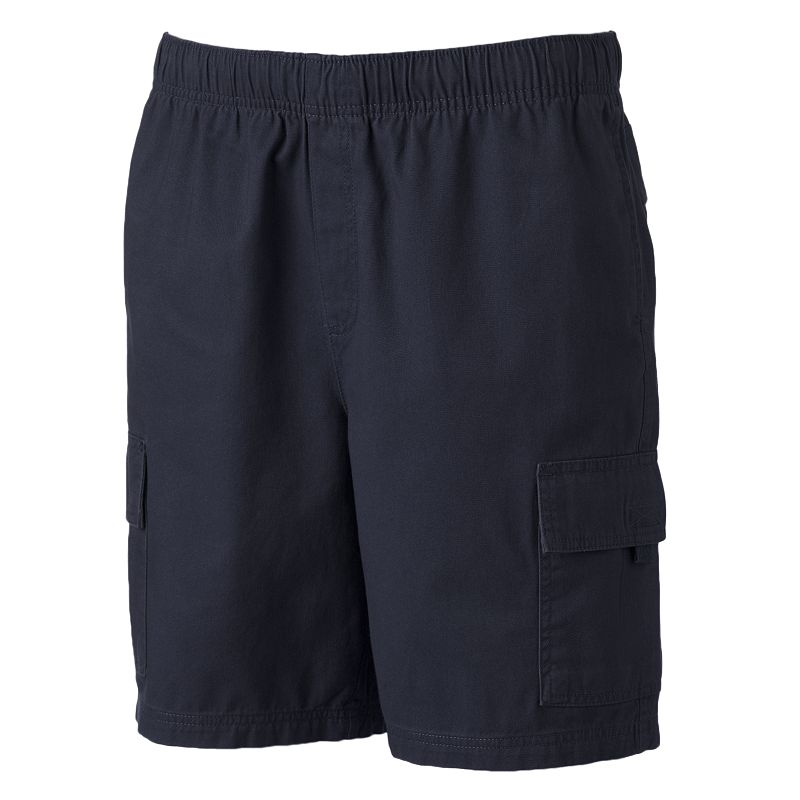 Big & Tall Croft & Barrow® Canvas Cargo Shorts
