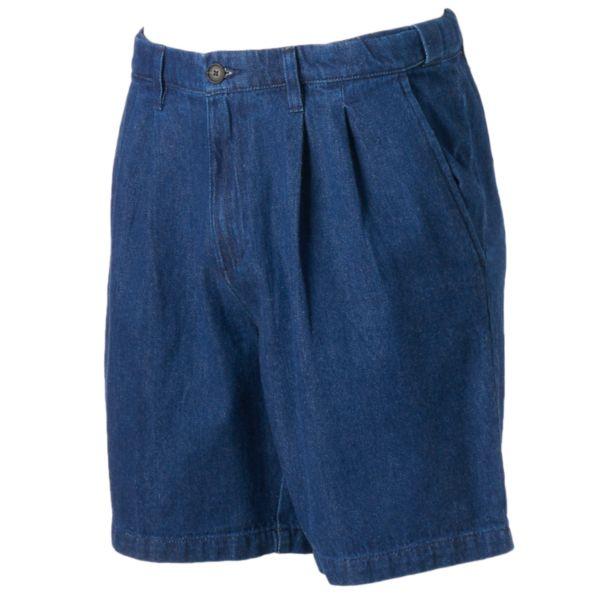 Men's Croft & Barrow® Classic-Fit Denim Flex-Waist Shorts