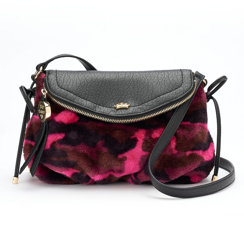 Juicy Couture Mini Traveler Camo Crossbody Bag