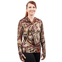 Huntworth Active Camo Fleece Hiking Hoodie - Women's