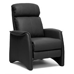 Baxton Studio Aberfeld Club Recliner Arm Chair by