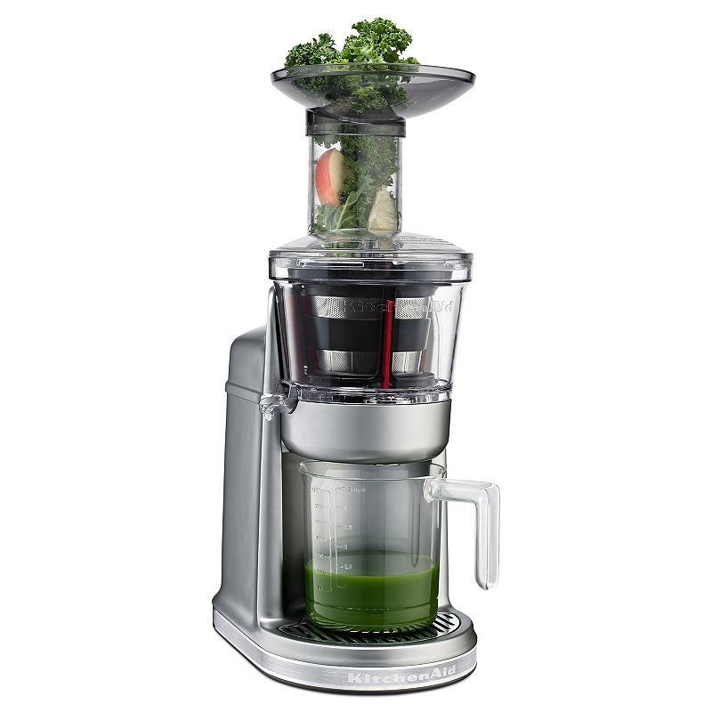Slow Juicer Wide Mouth : KITCHENAID KvJ0111 WIDE-MOUTH MAXIMUM EXTRACTION SLOW JUICER