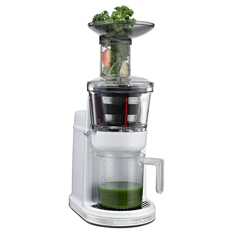 Kitchenaid Maximum Extraction Slow Juicer Review : Wide Mouth Juicer Kohl s