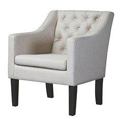 Baxton Studio Brittany Club Chair by