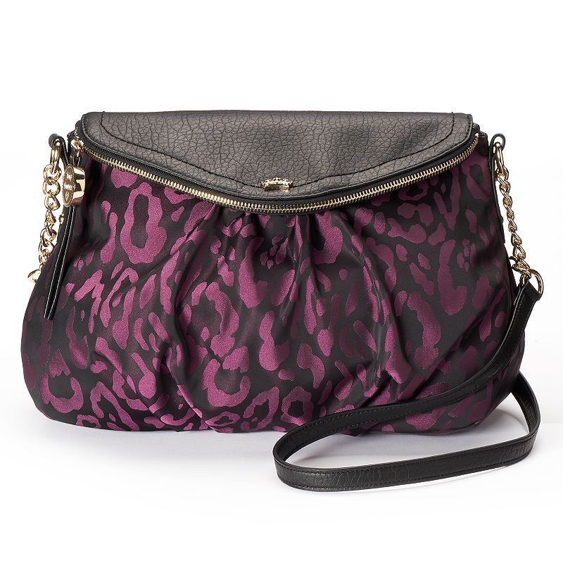 Juicy Couture Leopard Mini Traveler Crossbody Bag