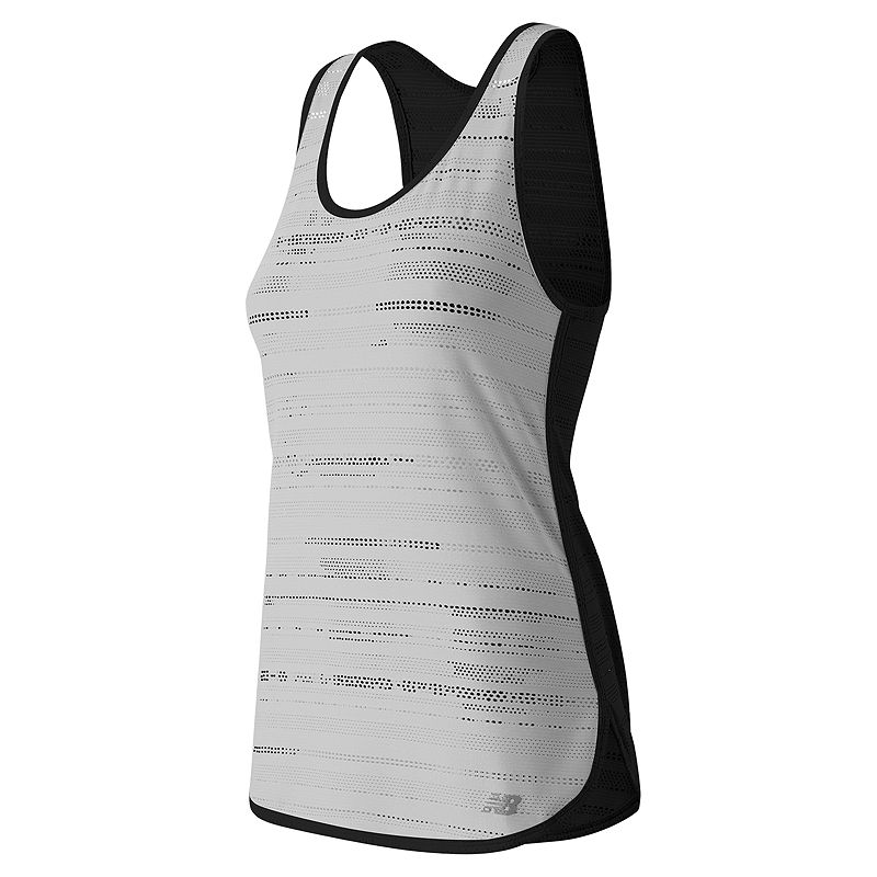 Women's New Balance Mesh Scoopneck Workout Tank