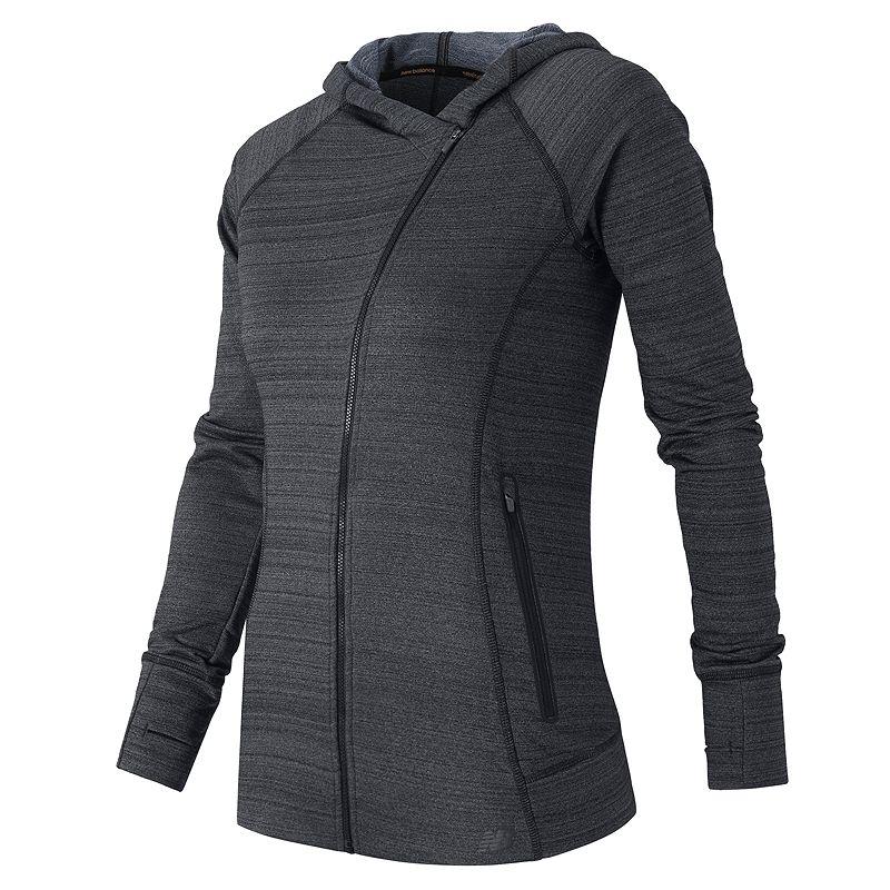 Women's New Balance Hooded Performance Fleece Jacket