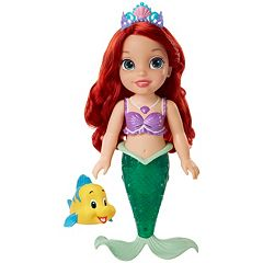Disney Princess The Little Mermaid Colors of the Sea Ariel Bath Doll  by