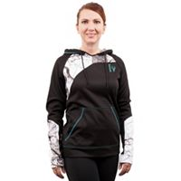 Huntworth Lifestyle Colorblock Fleece Hiking Hoodie - Women's