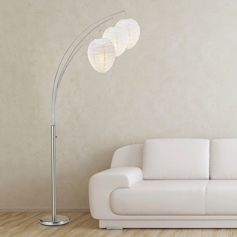 Adesso Belle Arc Floor Lamp