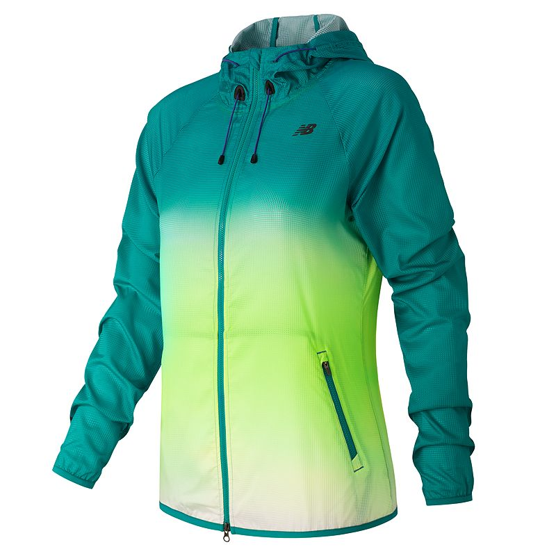 Women's New Balance Windcheater Hybrid Running Jacket