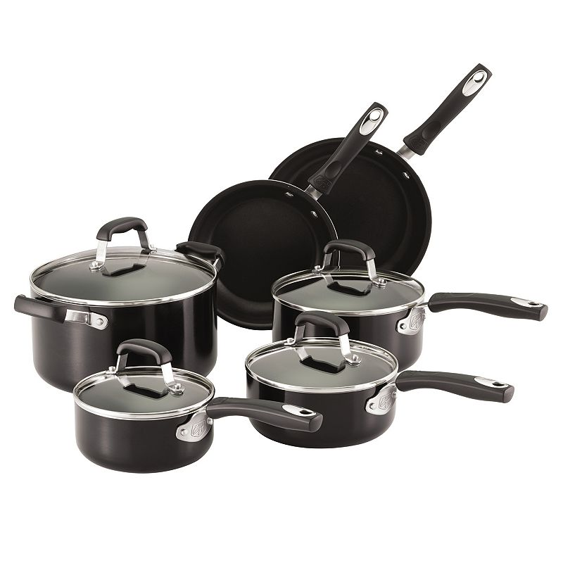 Guy Fieri 10-pc. Nonstick Aluminum Cookware Set