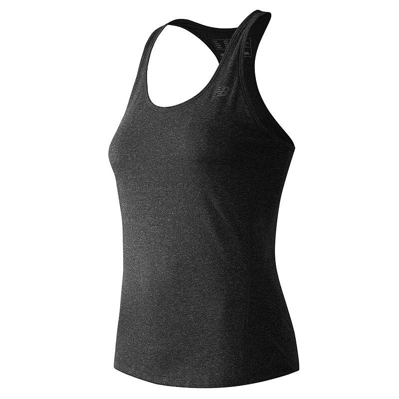 Women's New Balance Heathered Racerback Workout Tank