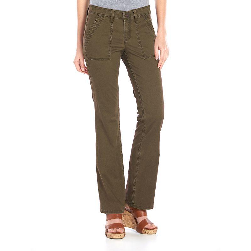 SONOMA life + style® Twill Bootcut Pants - Women's