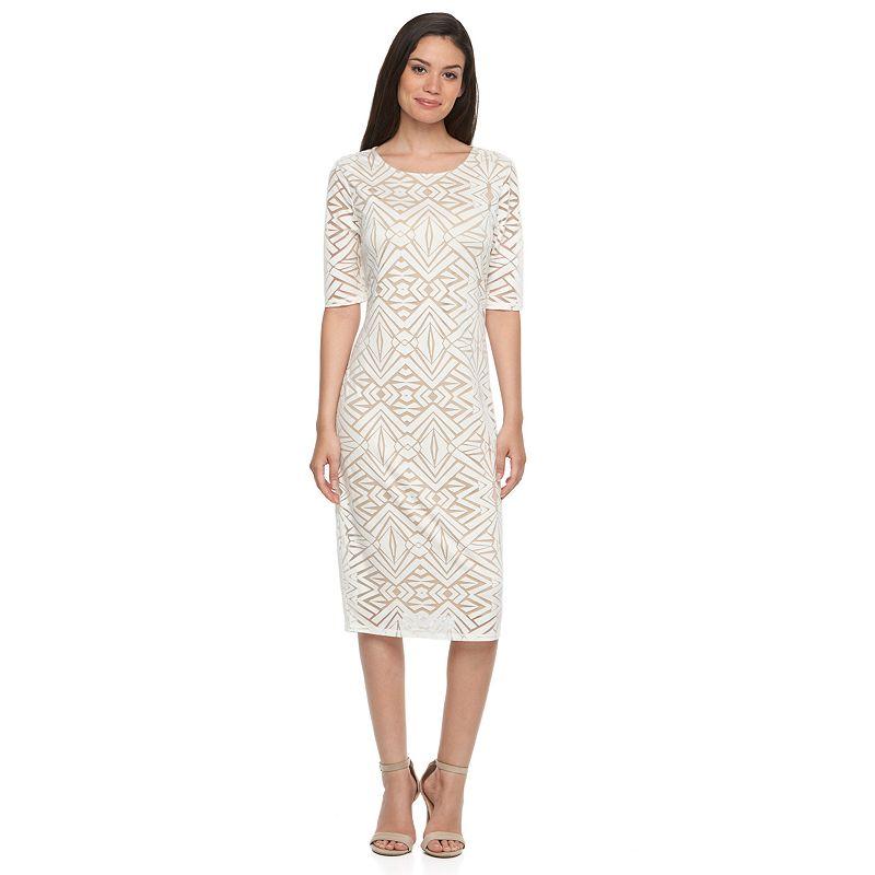 Apt. 9® Burnout Sheath Dress - Women's