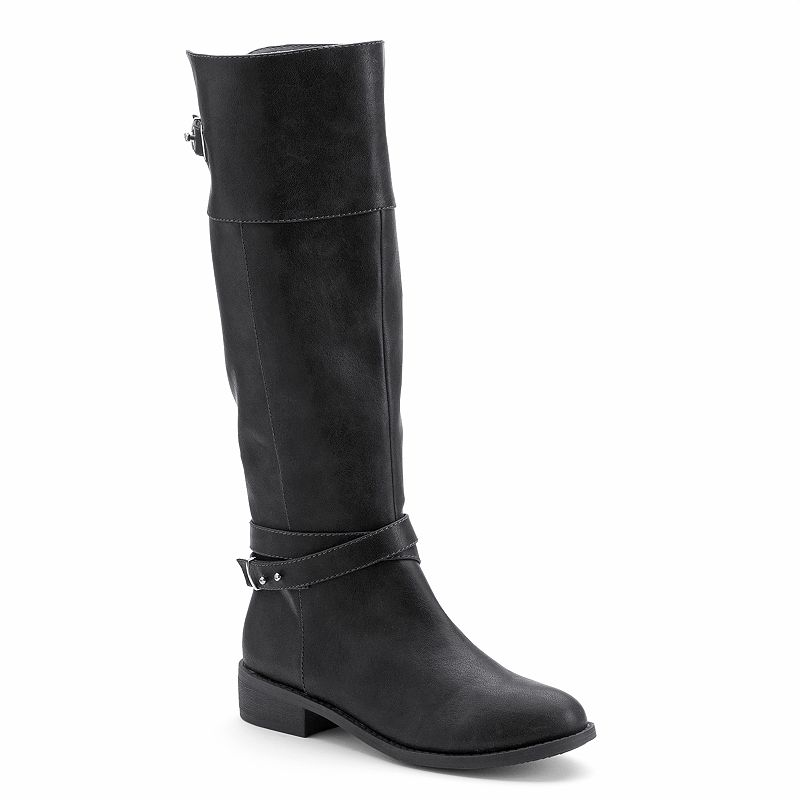 LC Lauren Conrad Women's Tall Riding Boots