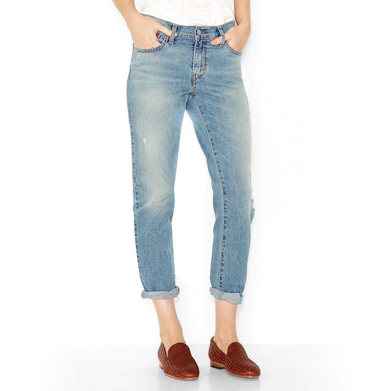 levi 39 s boyfriend jeans women 39 s size. Black Bedroom Furniture Sets. Home Design Ideas
