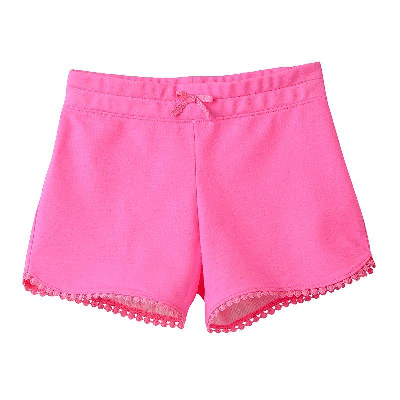 Girls 4-10 Jumping Beans® Crochet Shorts