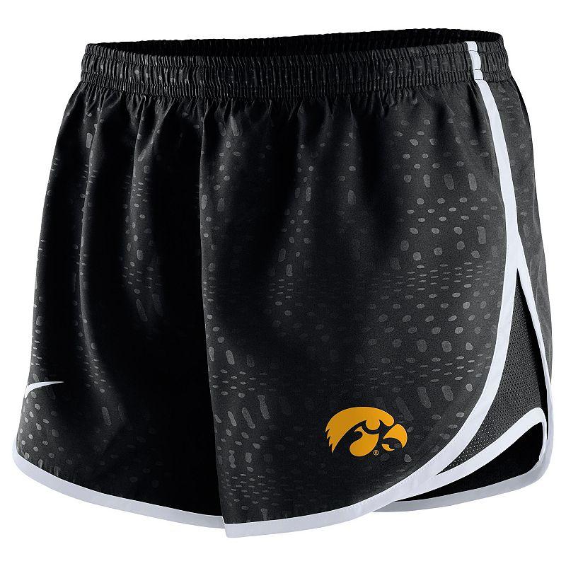 Women's Nike Iowa Hawkeyes Modern Tempo Dri-FIT Shorts