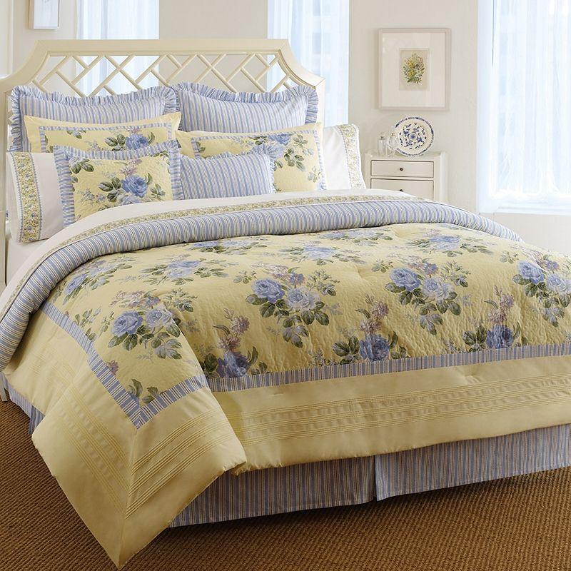 Laura Ashley Lifestyles Caroline 3-pc. Comforter Set