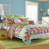 Collier Campbell English Bloom Reversible Comforter Set