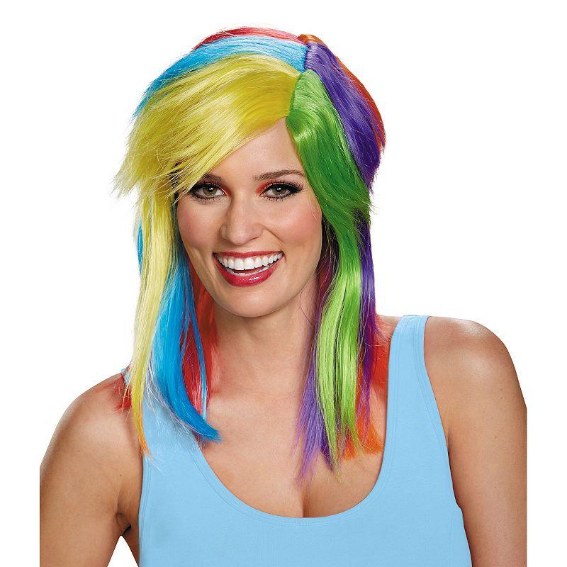My Little Pony Rainbow Dash Costume Wig - Adult