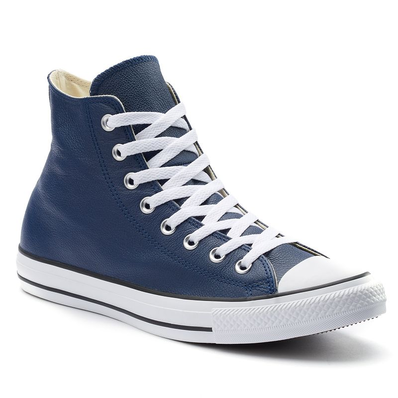 Men's Converse All Star Chuck Taylor Leather High-Top Sneakers