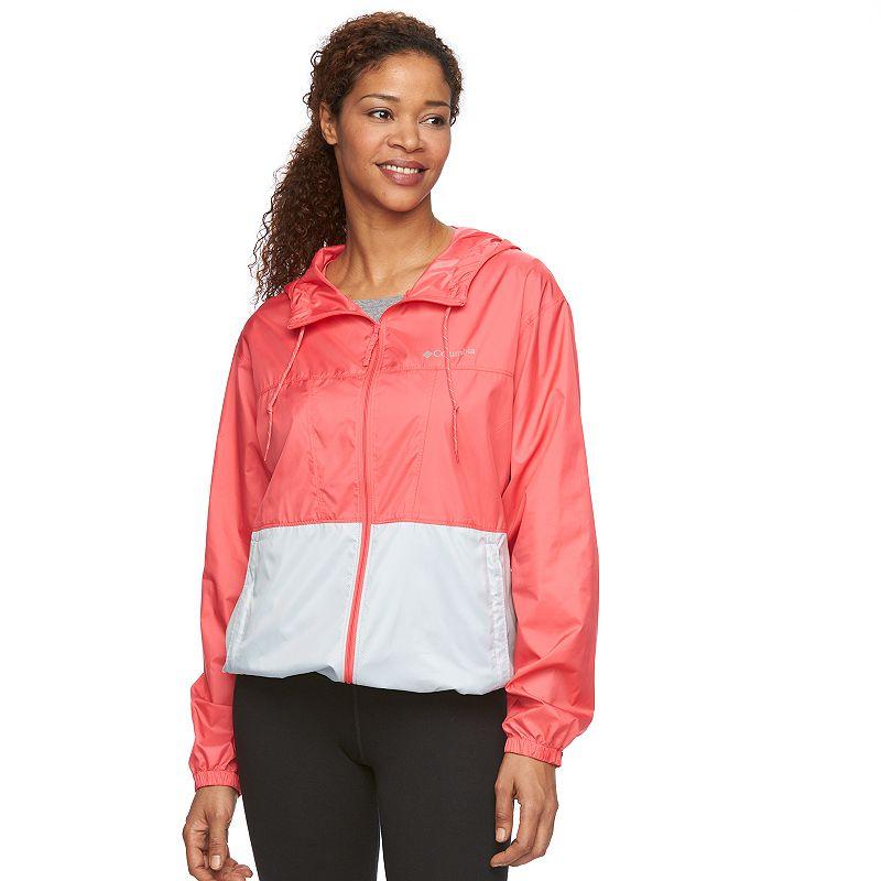 Women's Columbia Hooded Rain Jacket