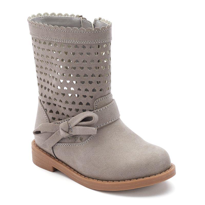 Jumping Beans® Toddler Girls' Heart Boots