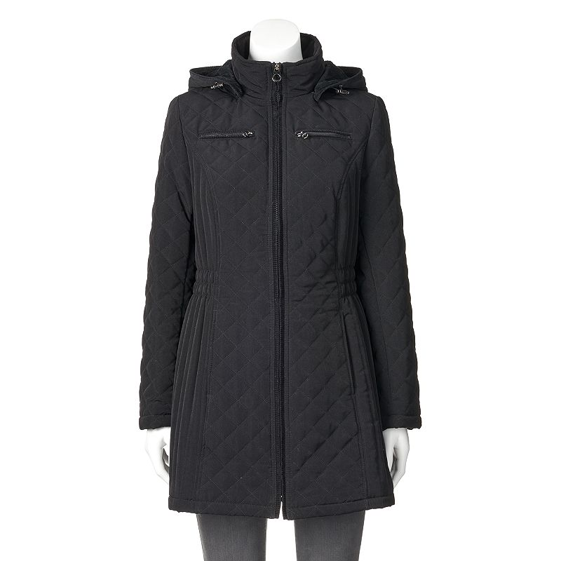 Women's Braetan Hooded Long Quilted Jacket