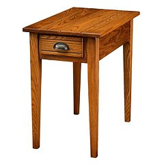 Leick Furniture Candleglow Finish 1-Drawer End Table by