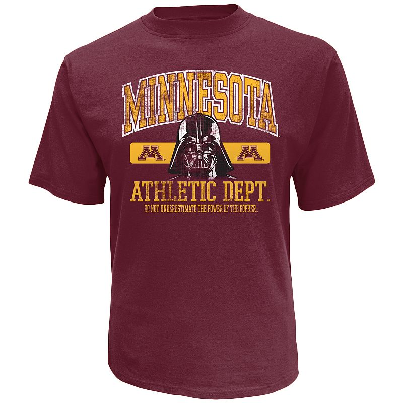 Men's Minnesota Golden Gophers Star Wars Power Tee