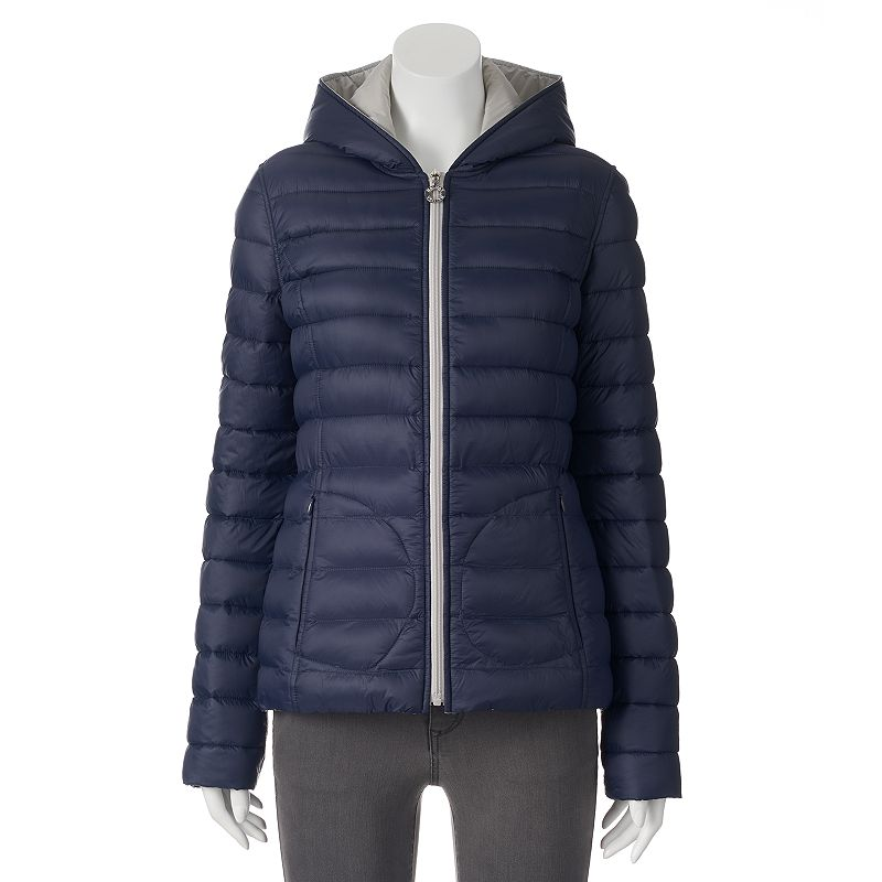 Women's Halifax Hooded Reversible Packable Puffer Jacket
