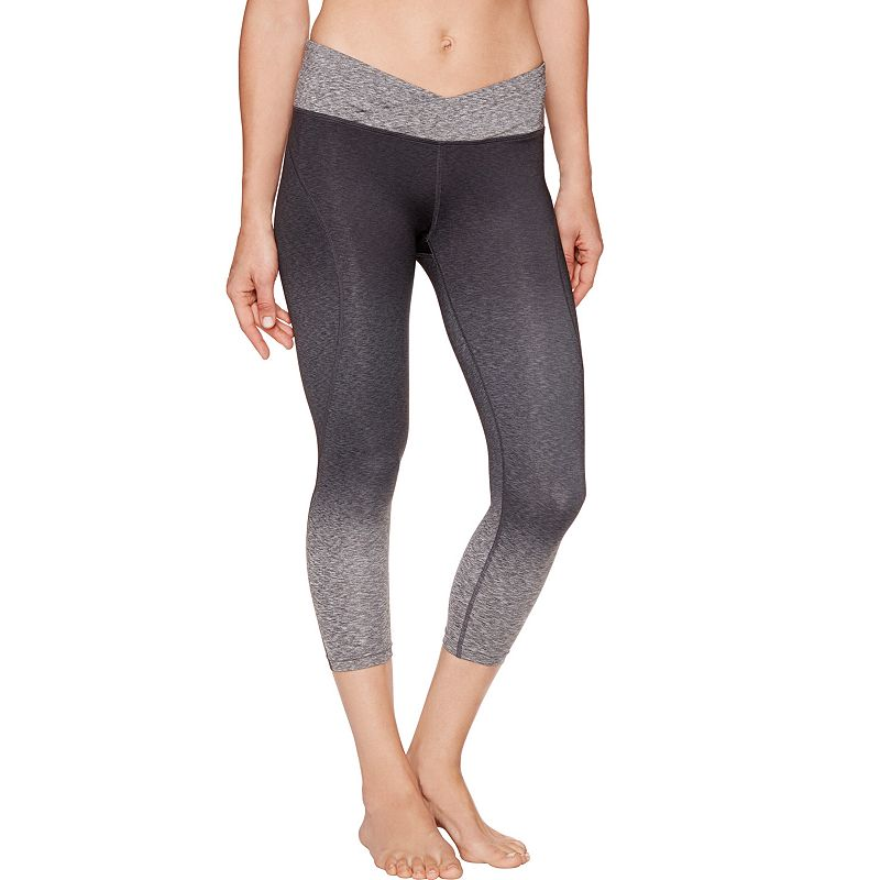 Women's Shape Active Ombre Printed Capri Workout Leggings