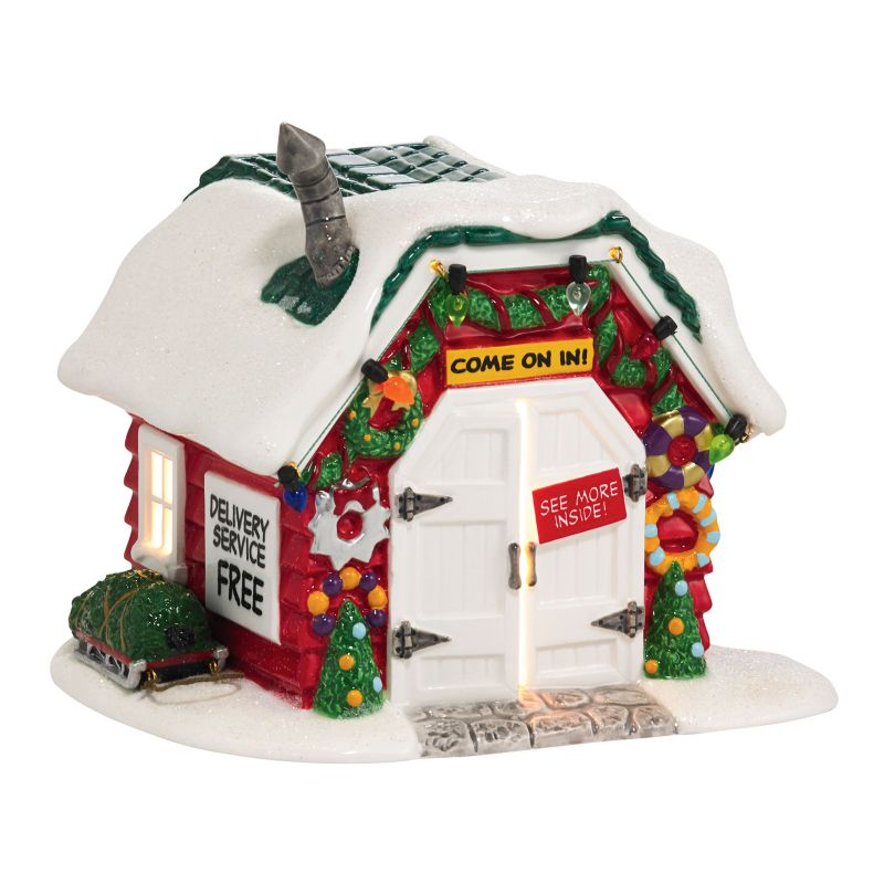 Peanuts Christmas Holiday Tree Lot Light-Up Village Decor by Department 56 ()