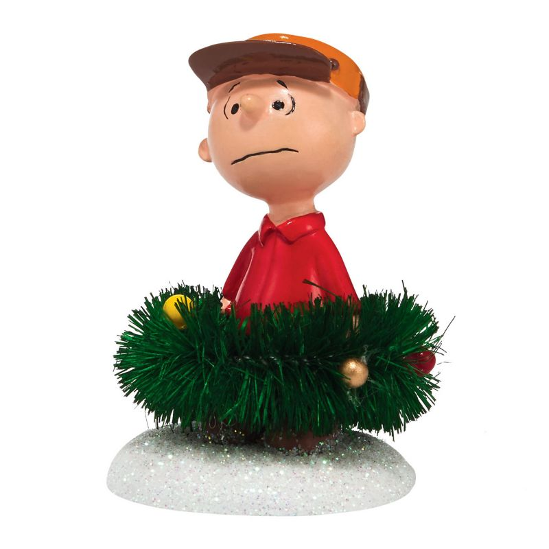 Peanuts Christmas Surrounded by Christmas Light-Up Village Decor by Department 56 ()