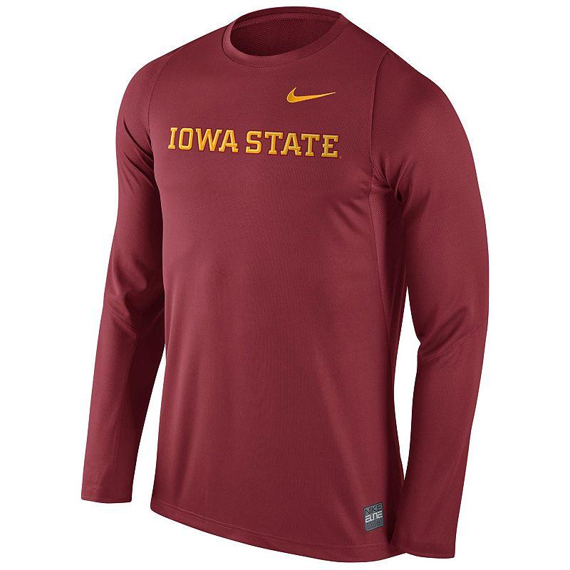 Men's Nike Iowa State Cyclones Elite Shootaround Top