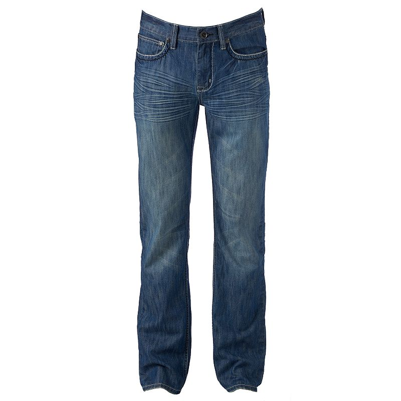 Men's Helix™ Medium Wash Straight-Fit Jeans