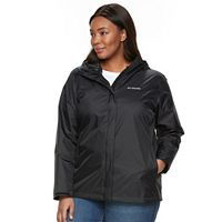 Plus Size Columbia Grey Skies Waterproof Jacket