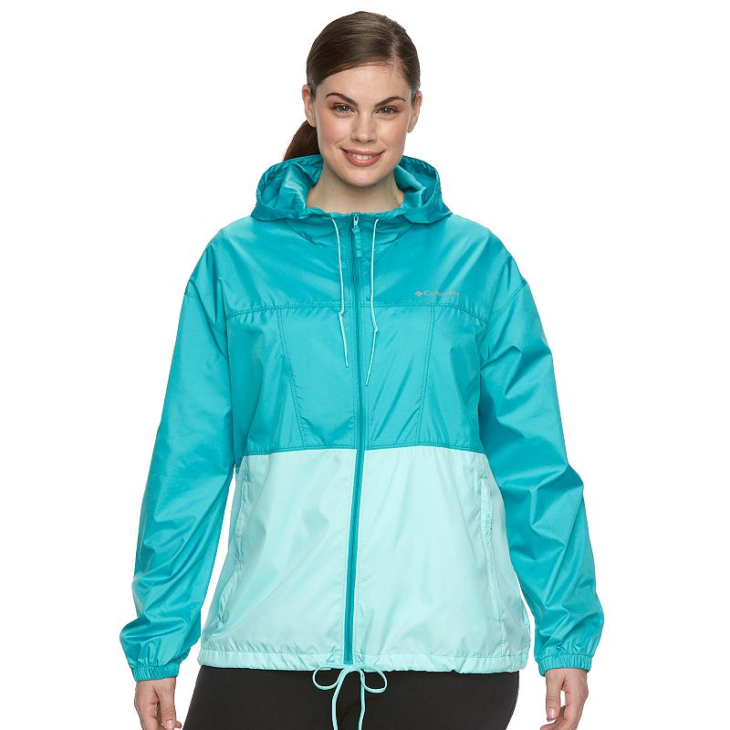 Plus Size Columbia Rockwell Falls Windbreaker Jacket