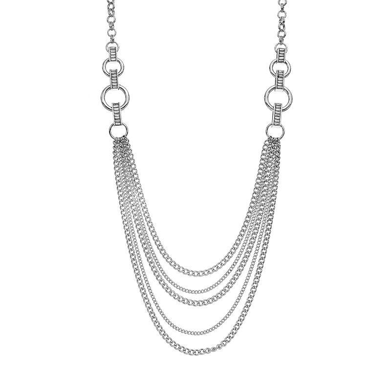 Jennifer Lopez Long Swag Necklace