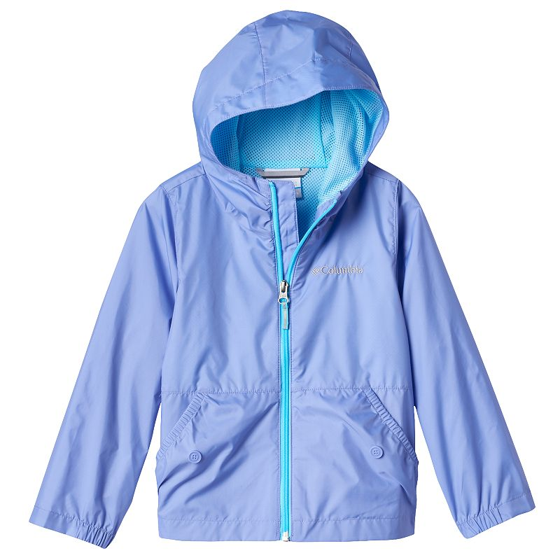 Girls 4-18 Columbia Lightweight Solid Rain Jacket