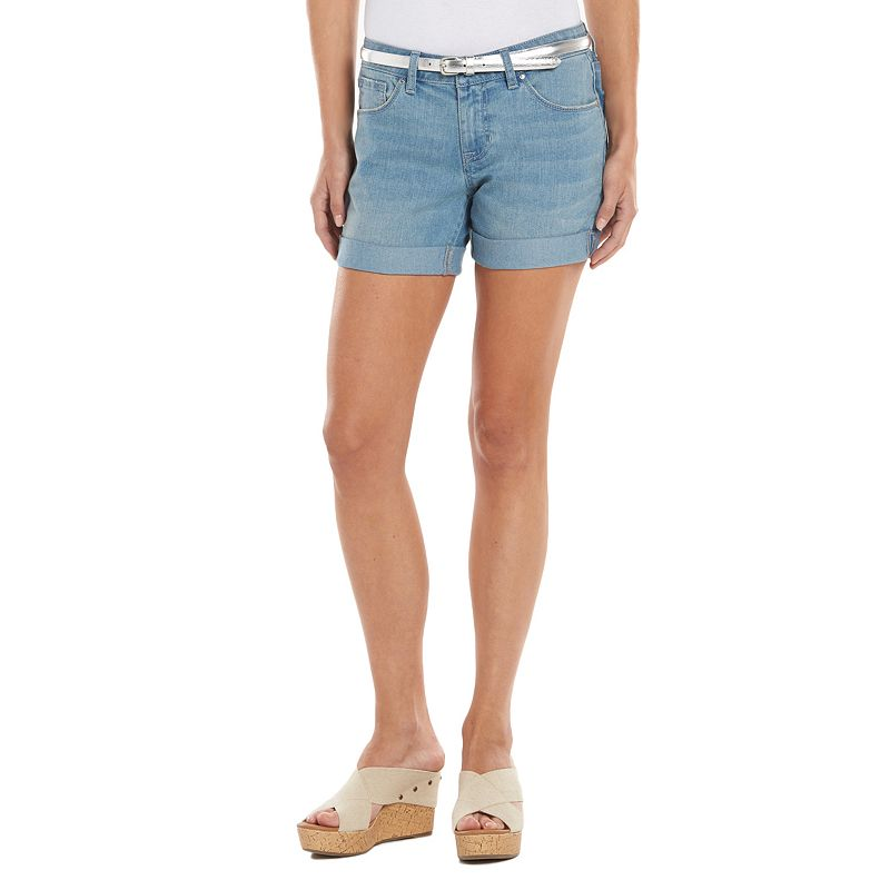 Apt. 9® Cuffed Jean Shorts - Women's