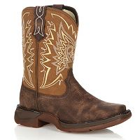 Lil Durango Let Love Fly Kids' Distressed 8-in. Western Boots