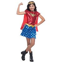 Wonder Woman Sequin Costume - Kids