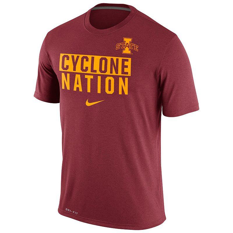 Men's Nike Iowa State Cyclones Stadium Legend Dri-FIT Local Tee